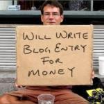 blogareală pe bani